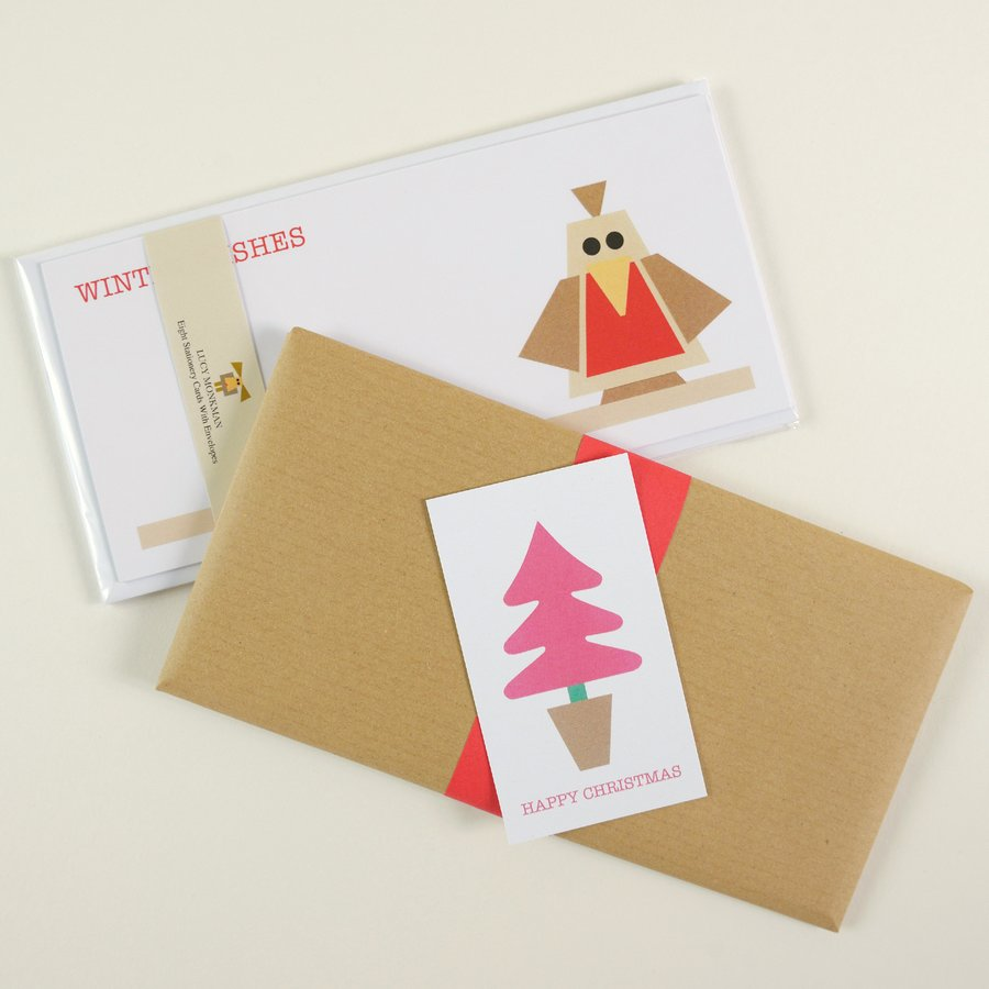 free gift wrapping social stationery sets