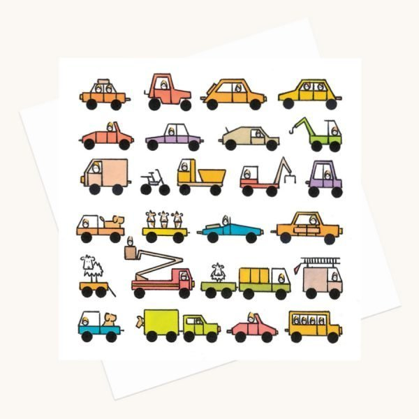 transport enthusiast greeting card vehicles any occasion