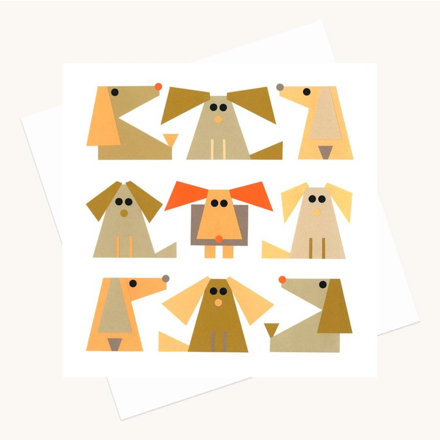 different fun dogs greeting card any occasion