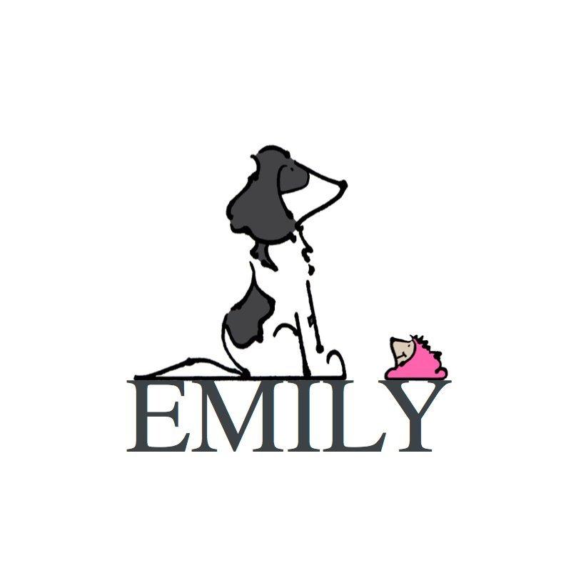 animal portrait commission dog springer spaniel