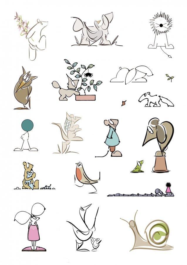 animal illustrations lucy monkman