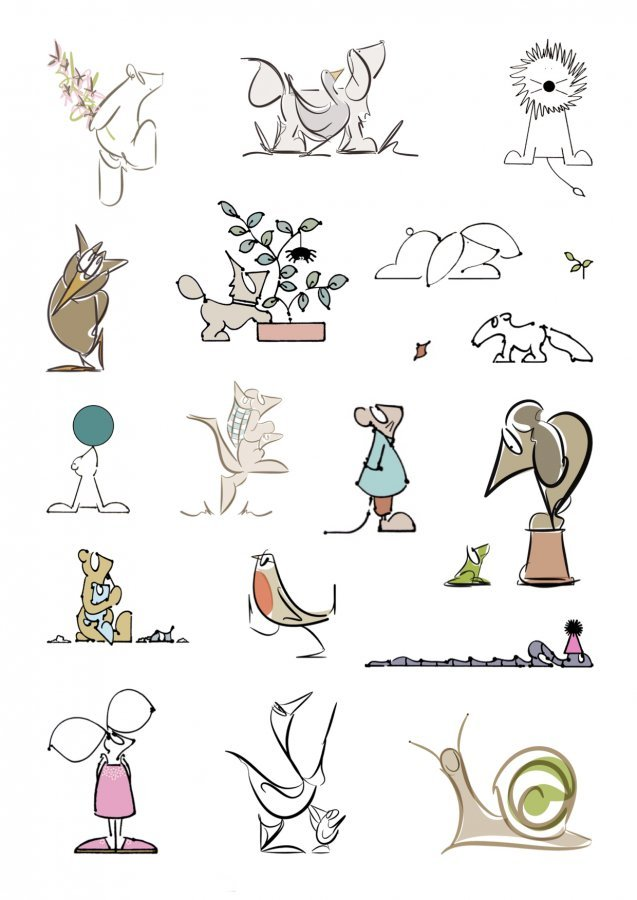 animal illustrations 2019