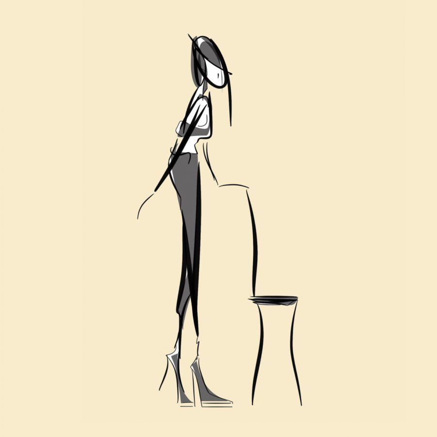 digital figure work fashion illustration