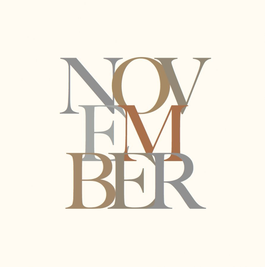 typography design november