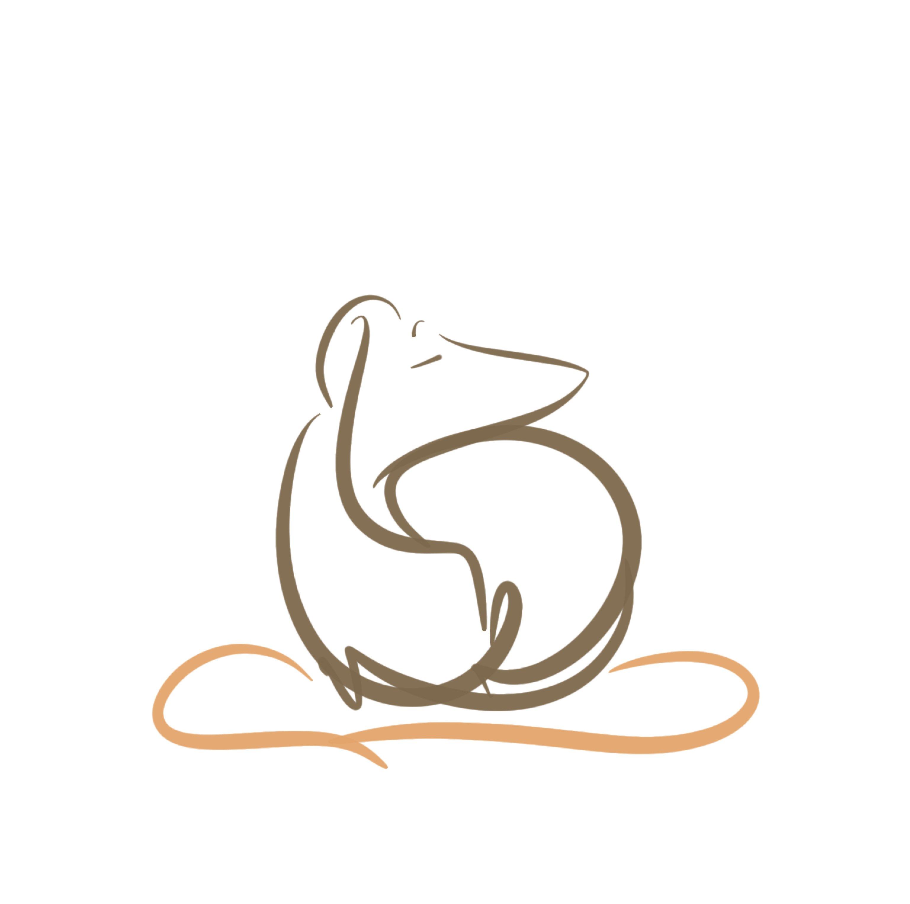 digital illustration dog