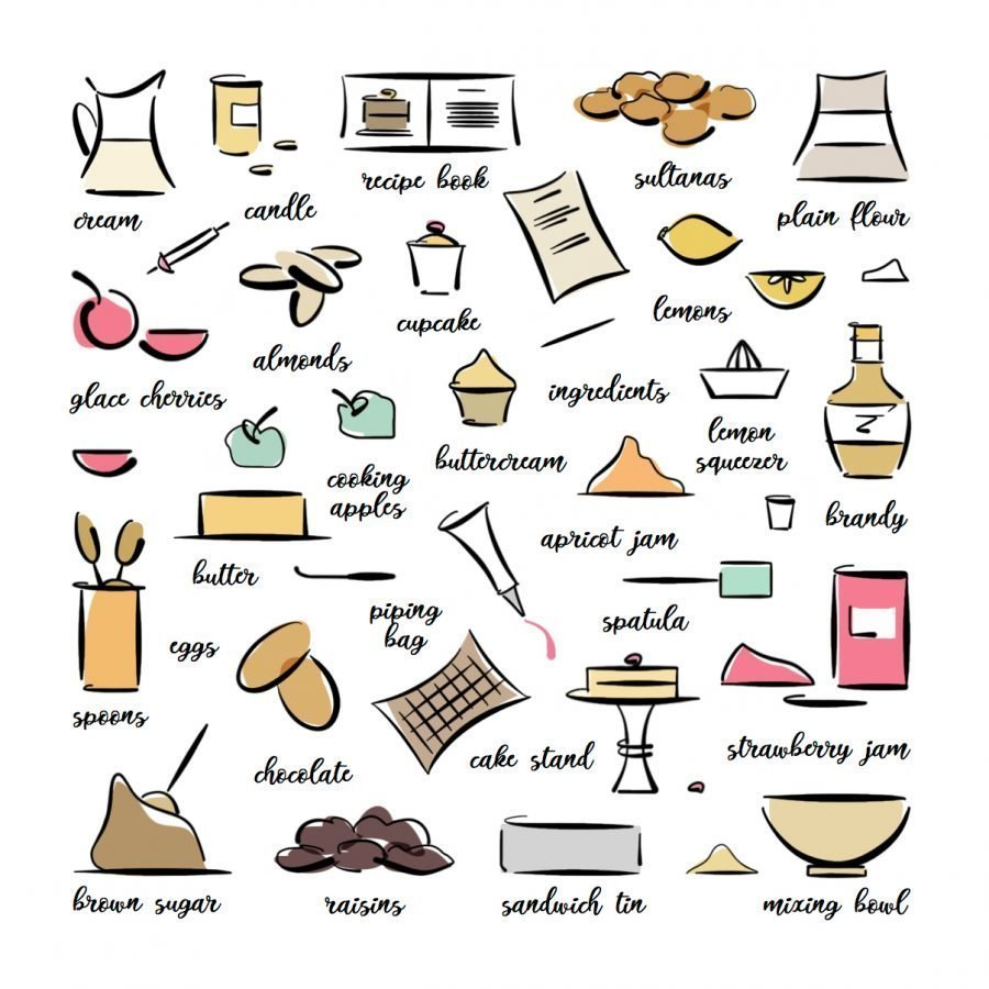 baking illustration