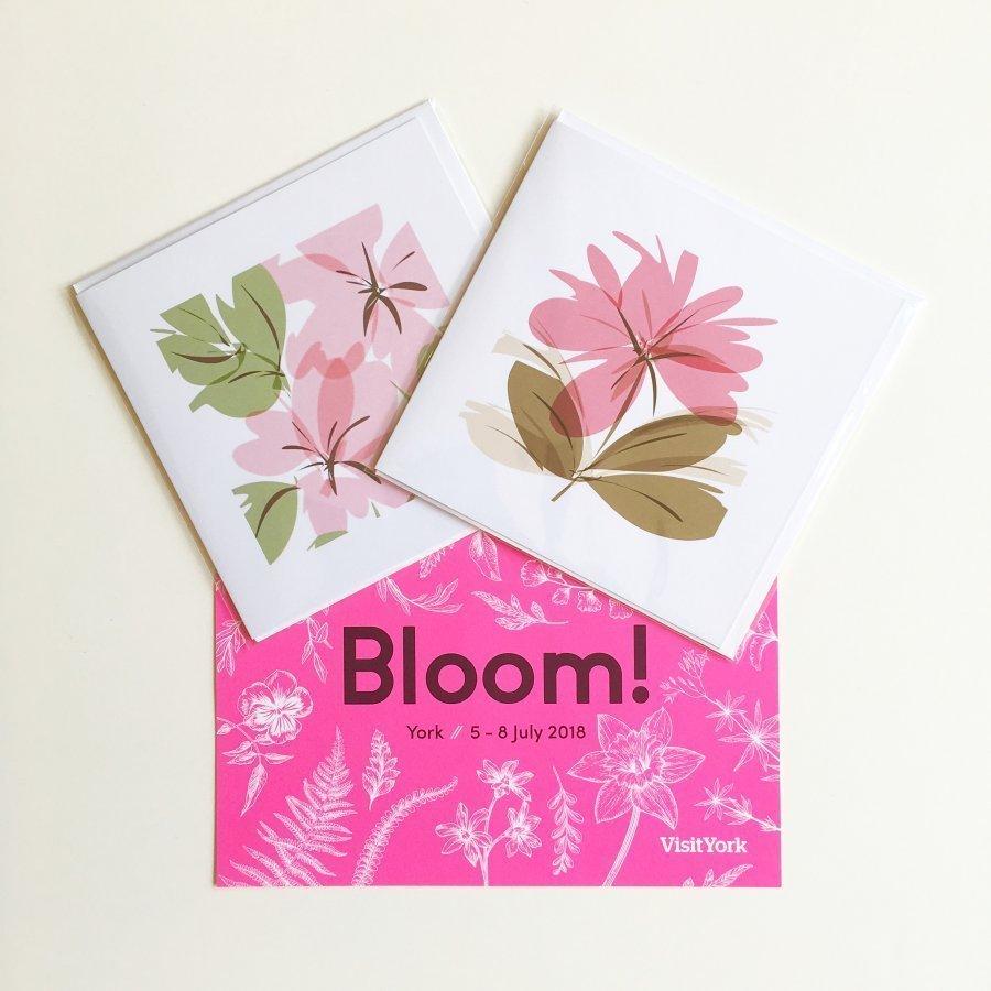 floral greeting cards bloom july offer