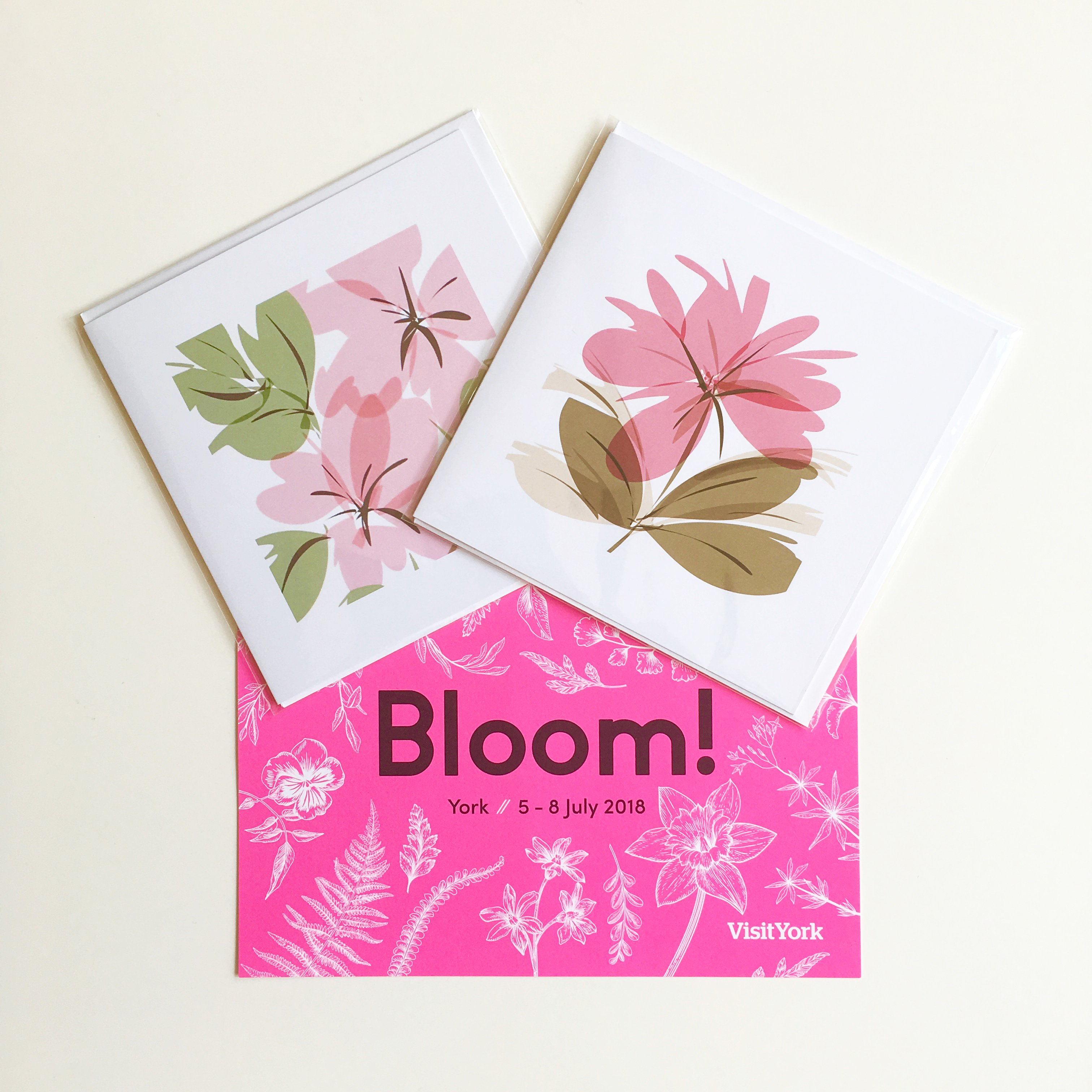 floral greeting cards bloom july offer