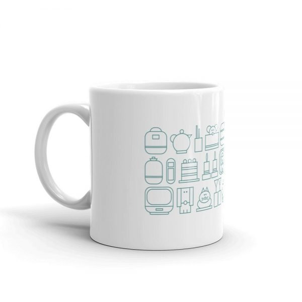 home sweet home ceramic mug