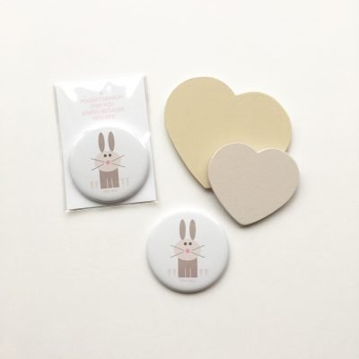 very nice rabbit pocket mirror lucy monkman