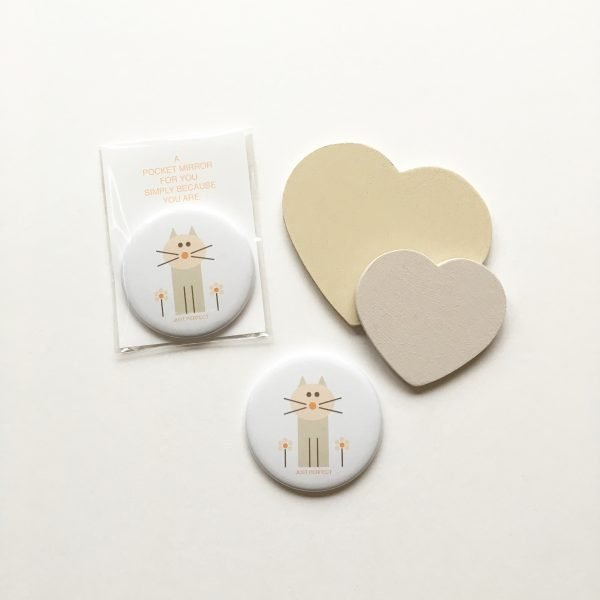 just perfect pocket mirror lucy monkman