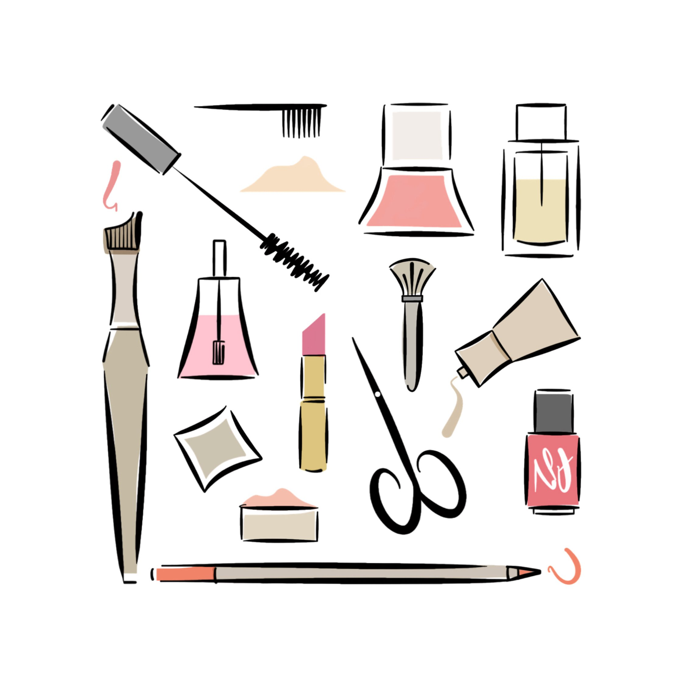 makeup illustration home page lucy monkman