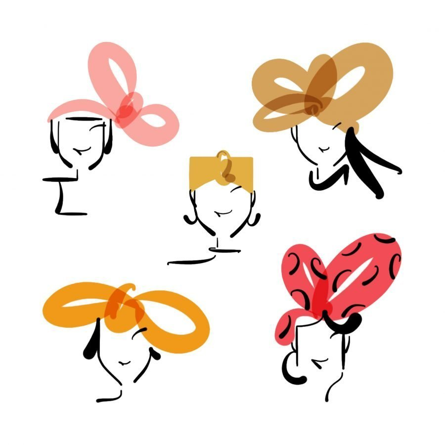 headbands illustration lucy monkman