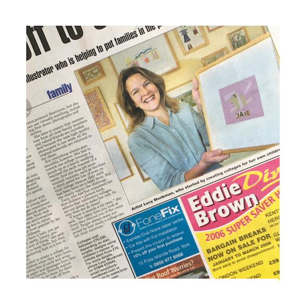 evening press article