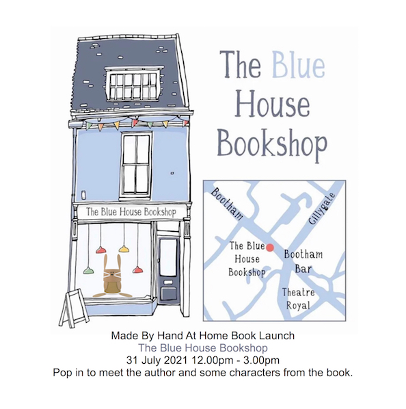 made by hand at home book launch